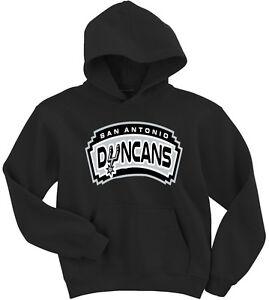 """San Antonio Spurs Tim Duncan """"Duncans"""" Sweatshirt Hoodie"""
