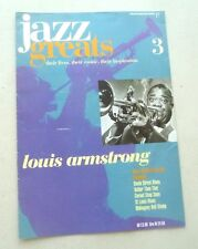 LOUIS ARMSTRONG JAZZ GREATS THEIR LIVES THEIR MUSIC THEIR INSPIRATION