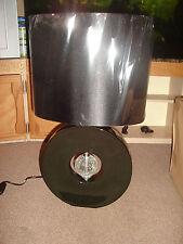 Ella Black Ceramic Table Lamp