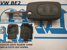 COVER CHIAVE GUSCIO PER TELECOMANDO NEW VW BEETLE A 3 TASTI - SEAT SKODA AUDI