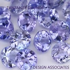 TANZANITE  ROUND  NATURAL GEMSTONE LOT  1.75 MM GEMSTONES 30 PCS
