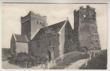 Kent postcard - Church & Pharos, Dover (A1093)
