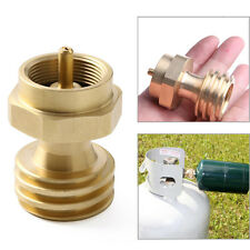 Gas Cylinder Tank Coupler Propane Refill Adapter Heater Camping Outdoor BBQ