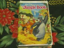 ~NEW BLACK DIAMOND FACTORY SEALED VHS~WALT DISNEY CLASSIC~THE JUNGLE BOOK~#1122~