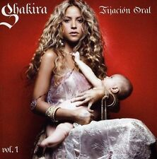 SHAKIRA Fijacion Oral Vol 1 CD/DVD BRAND NEW Fixation