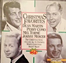CHRISTMAS FAVORITES: DEAN MARTIN, PERRY COMO, MEL TORME, JOHNNY MERCER. NEW 1992