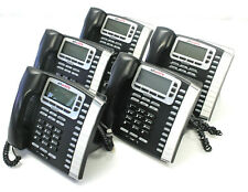 Lot of 5 Allworx 9212L VoIP Display Office Phone With Stand & Handset  - TESTED