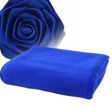 Fast Drying Beach Bath Towel Gym Sport Blue Microfiber Luxury Soft Face Towel S0