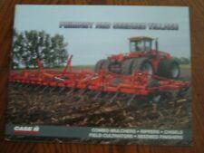 Case IH Primary & Seedbed Tillage Brochure. U.S.A Version. 1996