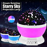 Rotating Projector Starry Night Lights Star Sky Projection LED Gifts Room Decor