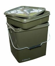 Trakker 13 Ltr Olive Square Container Inc Tray / Carp Fishing