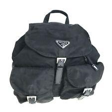PRADA nylon backpack black used 1156-10N49