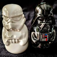STARWARS SALT & PEPPER SHAKERS Hallmark New