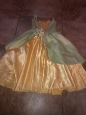 Handmade Princess And The Frog Tiana Dress Costume Size 3/4