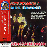JAMES BROWN-PURE DYNAMITE: LIVE AT THE ROYAL-JAPAN MINI LP SHM-CD Ltd/Ed G00