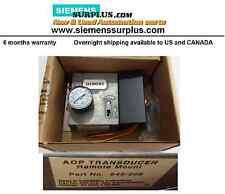 Siemens 545-208 A0D TRANSDUCER