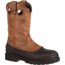 Georgia Boot Mens G5514 Leather Closed Toe, Mississippi Brown, Size 11.5 m2wF