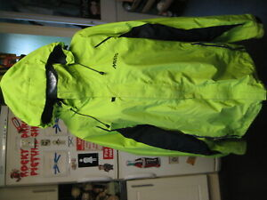 """musto green removable hood lightweight jacket coat size 2XL 48"""" chest"""