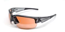 Maxx HD Sunglasses Dynasty 2.0 gray crystal golf driving lens brown LT E5
