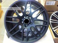 "19"" WHEELS RIMS CSL STYLE MATTE BLACK M3 FITS BMW E46 E90 E92 E93 F30 F32 F33"