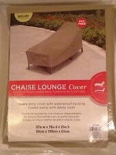 New ALLEN Chaise Lounge Outdoor Furniture Weather Protector Cover Heavy Duty