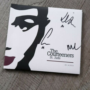 Courteeners  St Jude Re-Wired  CD  SIGNED