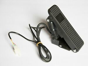 Type II Universal Electric Go Kart Foot Pedal Throttle 3Wire 12 24 36 48 60 72V
