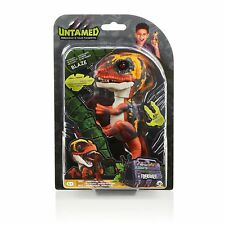 Wow Wee Untamed Raptor by Fingerlings - Blaze (Orange)