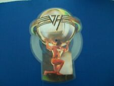 VAN HALEN - WHY CAN'T THIS BE LOVE B/W GET UP. SHAPED VINYL PICTURE DISC VG/VG