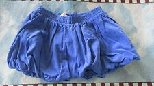 Laikable Blue Circo mini skirt, Corduroy bubble skirt for 6M,