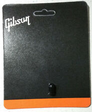 GIBSON Les Paul Black Toggle Switch Cap Knob Tip Genuine - SHIPS FREE IN THE USA
