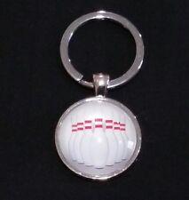tenpin bowling metal glass keyring