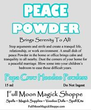 Peace Powder Hoodoo Voodoo Ritual Dust Tranquility Stop Relationship Arguments