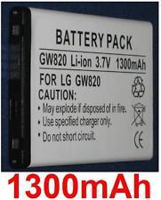 Batterie 1300mAh type SBPP0027401 Pour LG eXpo GW820
