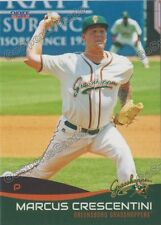 2016 Greensboro Grasshoppers Marcus Crescentini RC Rookie Marlins