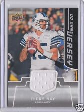 Toronto Argonauts Ricky Ray 2016 Upper Deck CFL Game Used Jersey SP Short Print