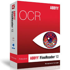 Abbyy Finereader 12 Pro / Professional Vollversion - Download Sofortlieferung