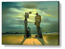 More details for salvador dali reminiscence archaeological repro canvas box print a4, a3, a2, a1