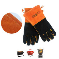 Heat Resistant Camping Picnic Glove BBQ Cooking Kitchen Oven Mitts Fire Proof