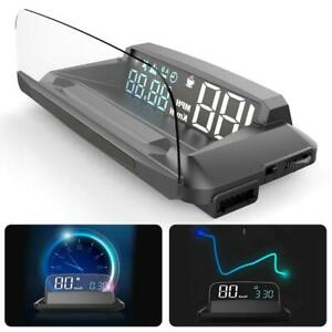 "5.5"" G3 GPS Head-up Display HUD Projector Speedometer Overspeed Warning Detector"