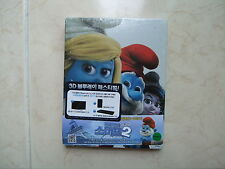 The Smurfs 2 (2013, Blu-ray) 2D + 3D Combo Steelbook