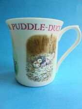 JEMIMA PUDDLE DUCK MUG CUP LIKE NEW THE WORLD OF PETER RABBIT QUEENS ENGLAND