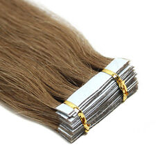 "7A Seamless Tape in Skin Weft Remy Human Hair Extensions USA Stock 16""18""20""22"""