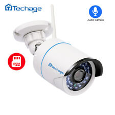 Techage 1080P WiFi IP Camera 2.0MP Wireless Audio SD Card Record Security CCTV