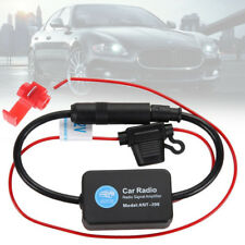12V Car Auto Stereo Radio Inline Antenna Aerial AM FM Signal Amplifier Booster