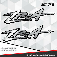 4X4 OFFROAD DECAL STICKER  EXTREME  S10 GMC Sonoma ZR-2 ZR2 ZR4 ZR-4 SA0174