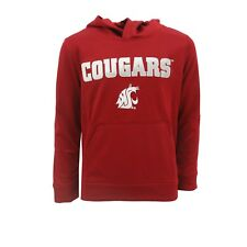 Washington State Cougars Official NCAA Apparel Kids Youth Size Hooded Sweatshirt