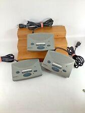 Lot of 3 Radio Shack 3 Channel Fm Wireless Intercom Systems Model 43-3105 Tested
