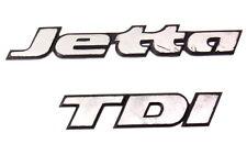 Trunk Emblems Badges Logo VW Jetta TDI MK3 - Genuine - 1HM 853 675 AK