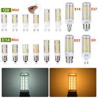 E27 E14 B22 G9 LED Lampadina lampada a luce di mais a risparmio energe SMD 5730